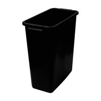 KEBAsort multi-purpose;container 60 l black recycled