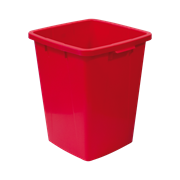 KEBAsort multi-purpose;container 90 l red
