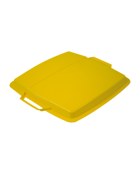 KEBAsort lid for container;90 l yellow