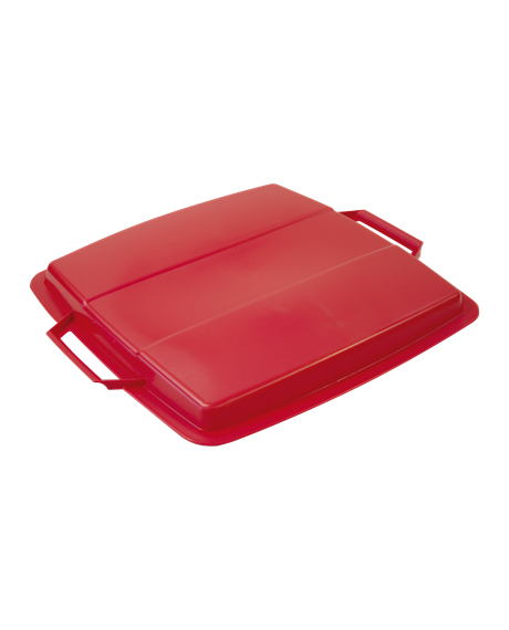 KEBAsort lid for container;90 l red